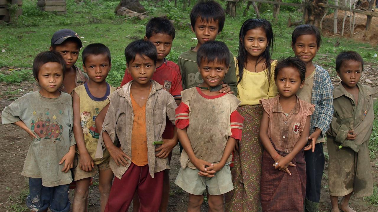 世界接受援助最多的国家之一,也是最懒惰的国家,贫富差距非常大