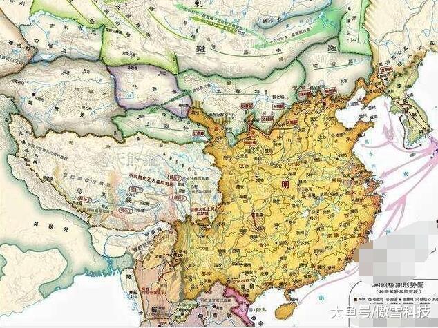 为什么有人道,若是出有浑朝疆域进献,中国明天便只要明终巨细?