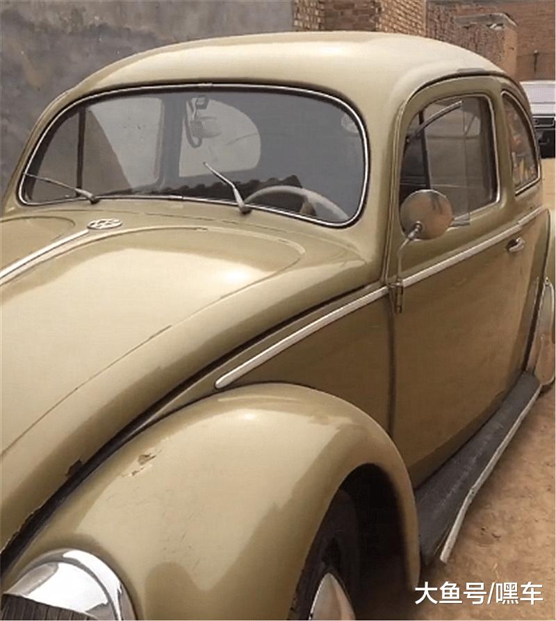 50年月甲壳虫,备胎前置,名字源于一虫豸,有钱还很易购!