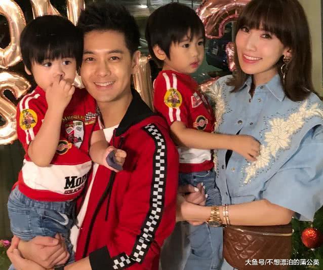 林志颖老婆晒4岁双胞胎弟弟喝牛奶,孩子的眼睛引热议