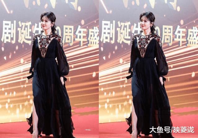 42岁马伊琍和40岁刘涛列席电视剧衰典,网友:不同太年夜了!