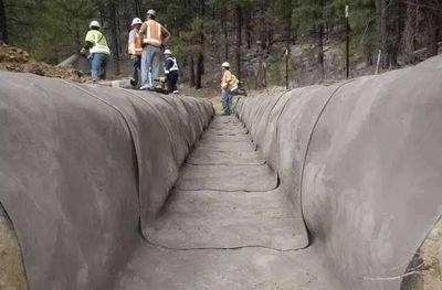 """现在谁还用火泥建房, 用""""干布""""间接一铺, 比混凝土皆坚固, 利平易近"""