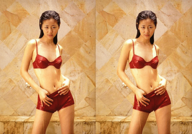 43岁林心如同框43岁李小冉,明明都是同龄人,看起来更是像两代人
