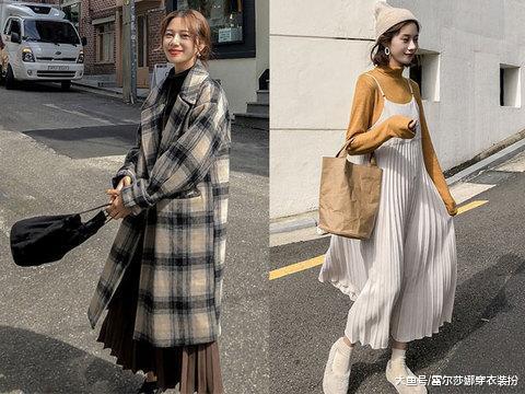 冬背心裙总能在端庄和休闲之间,给你不娇不媚的时髦感