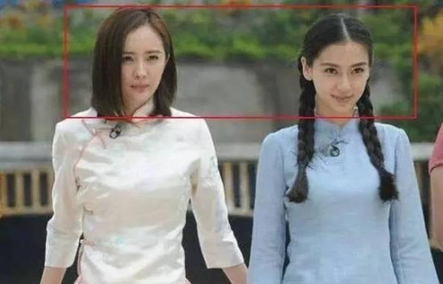 当167cm杨幂撞上168cm杨颖,网友:谎报身高的那位不尴尬吗?