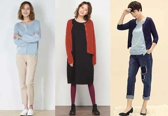 50岁女人穿针织衫优雅舒适,两款针织衫能负起你的整个春天的穿着