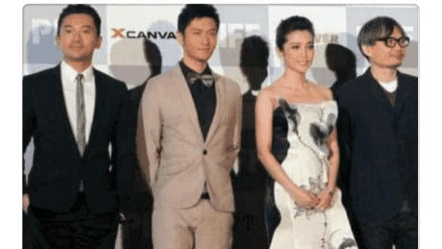 当黄晓明站在苏有朋身边,网友笑称:我见过最惨烈的合照现场!
