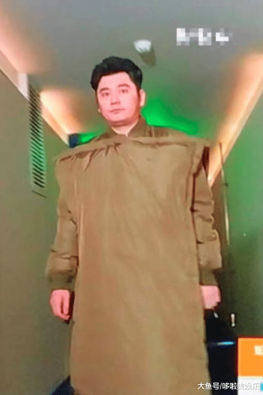 钱枫穿了件14800的衣服,却丑得不能看:行走的枕头!