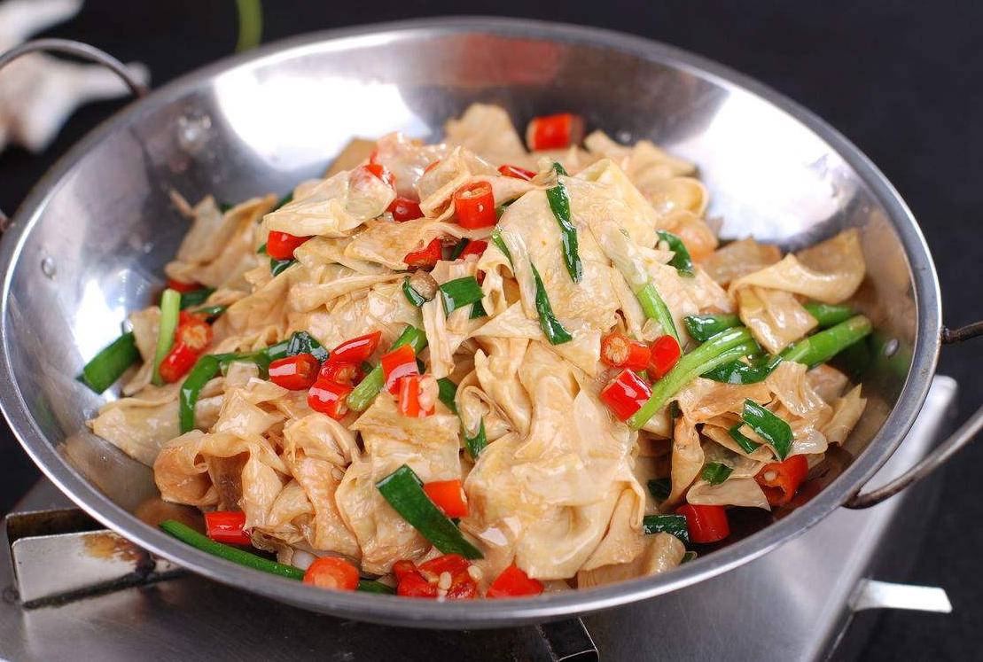 10分钟造做干锅豆皮