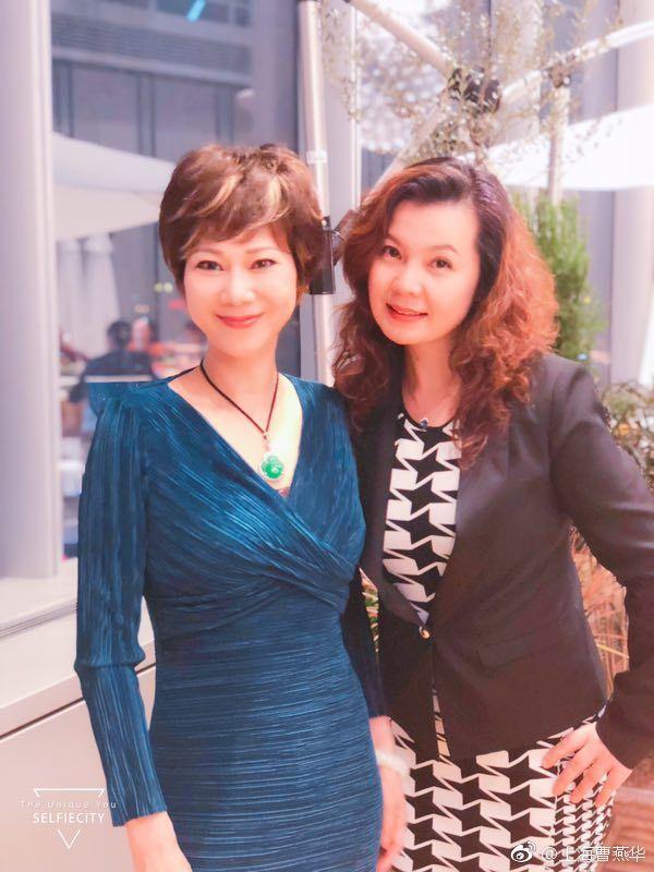 世界冠军曹燕华近照,57岁似少女,颜值高气质出众,现任丈夫现身