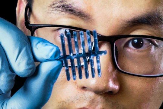 新的纤维素基资料将三个传感器集成在一路。 基于离子-电子纤维素气凝胶的多参数压力-温度-干度传感器