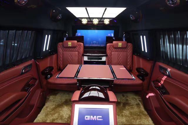 GMC加长间谍一号商务车, 尊隐强横王者风仪