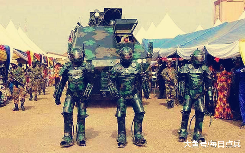 非洲国度的偶葩防务展,参展兵器令人啼笑皆非?完整不讲任何事理
