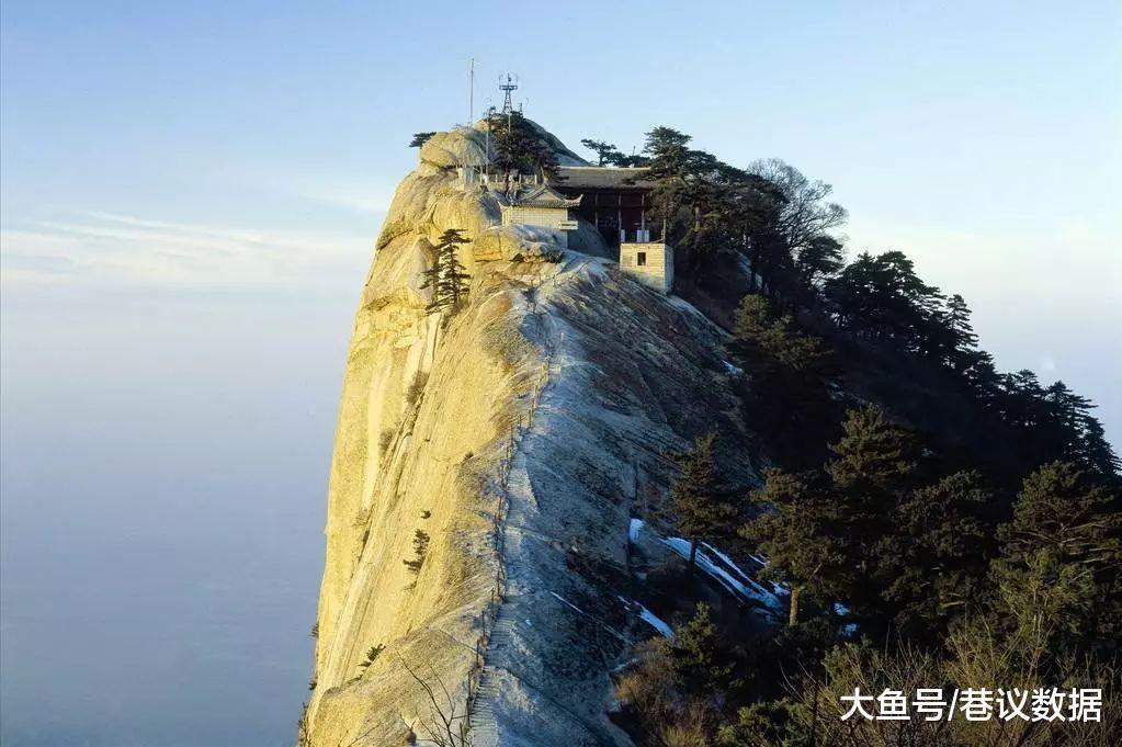 2018年陕西省自然风景类景区口碑榜