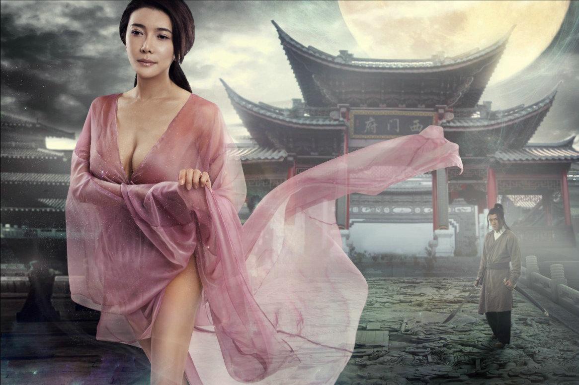 一婚嫁一米儒男,二婚嫁2米巨人,让网友百思不得其解