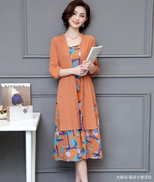 """新上一种裙,叫""""教师裙"""",显嫩又提气质,优雅减龄贼美嫩"""