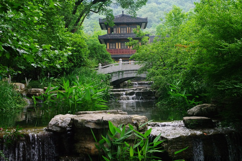 襄阳习家池,我眼中最美的郊野园林隐雅之境!