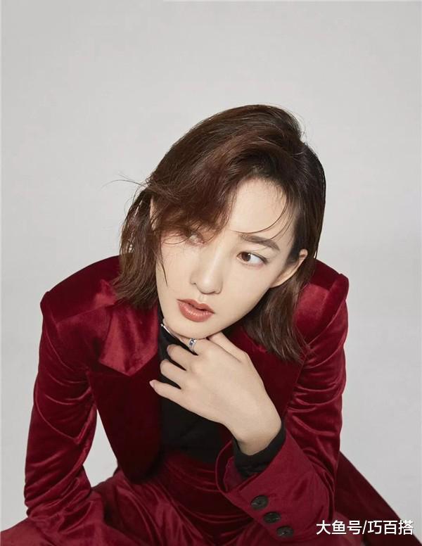 过年穿红色,如何优雅不落俗套?跟着王丽坤这样穿,让你气质时髦