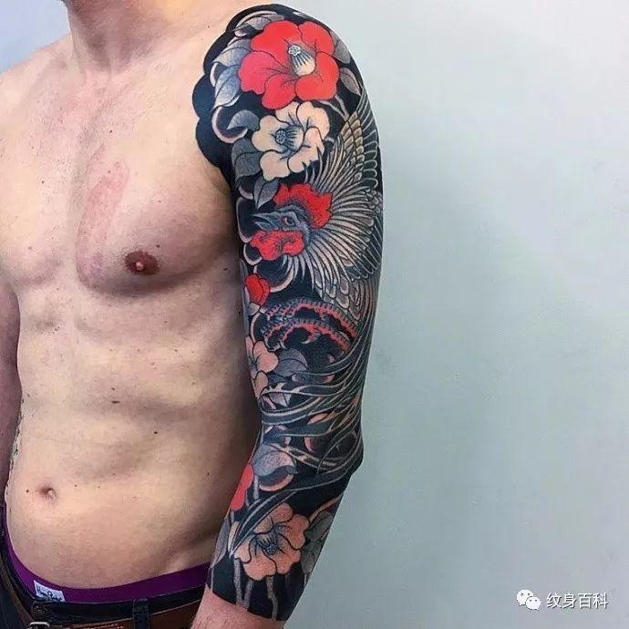 偏偏日式的传统纹身,很值得咀嚼