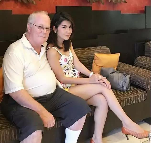 泰国女星嫁72岁富翁,没几个月就宣布离婚:因为太兴奋,太危险