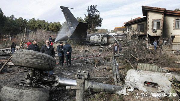 好国波音飞机在伊朗坠毁, 多量军警封闭现场, 白宫: 伊朗必需担任