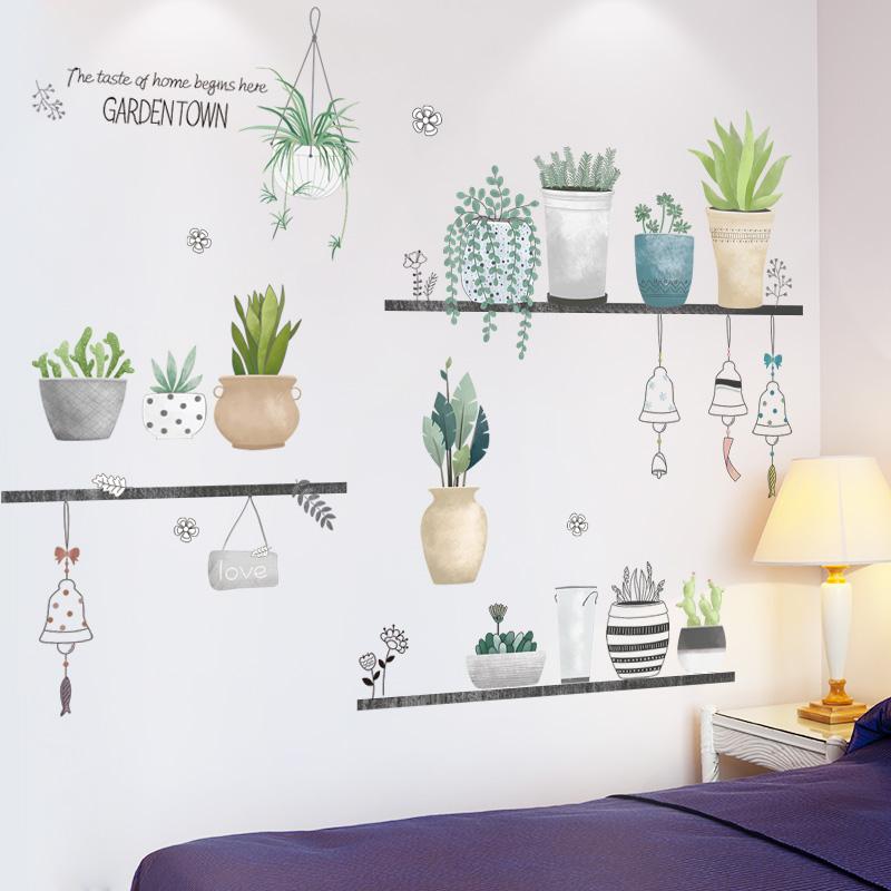 自从拥有了这几款墙贴,室内风格大变样,温馨又美观