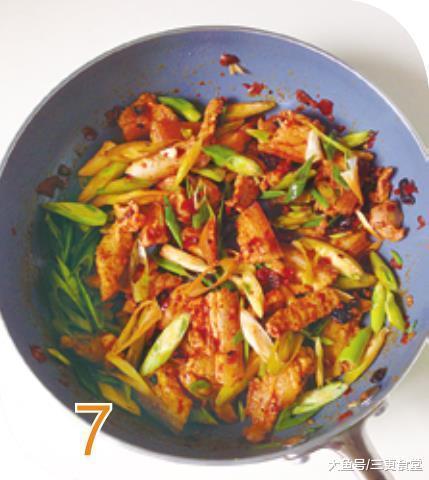 死爆盐煎肉 油明的豆豉配上煸到酥脆晶莹的五花肉 香到不可