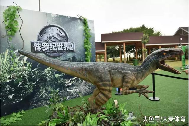 侏罗纪世界酷跑 苏州北太湖文明旅游节站 | 暮春踩青,群龙共奔!