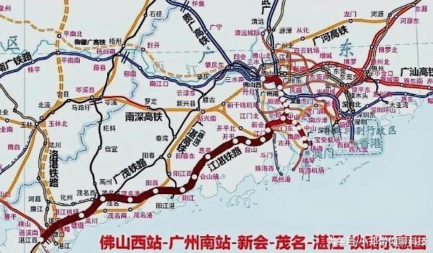 2小时游遍泰半个广东,又一个严重交通工程要降真,投资高达800亿