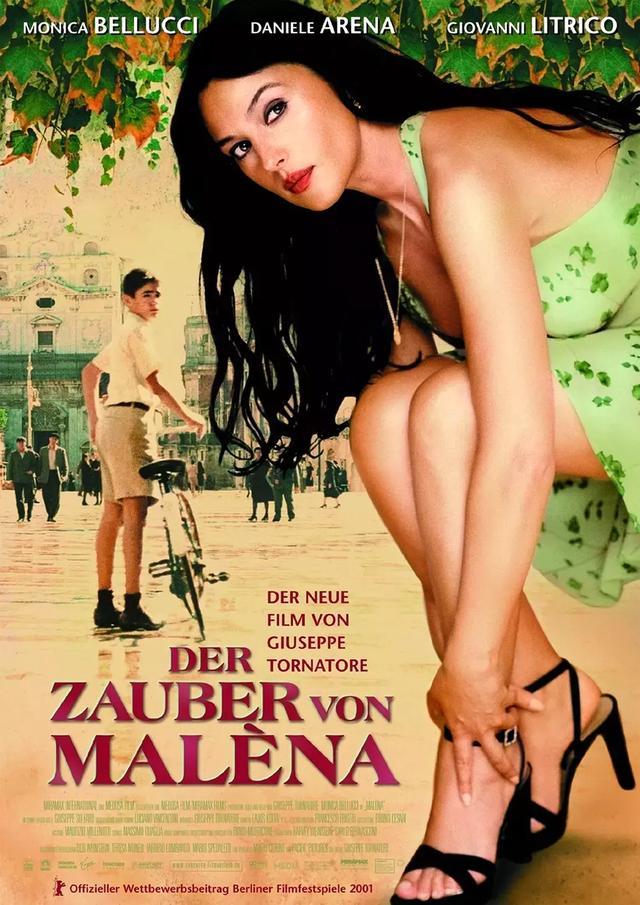 推荐:22部莫妮卡·贝鲁奇电影由西西里美丽传说爱上她的请举手