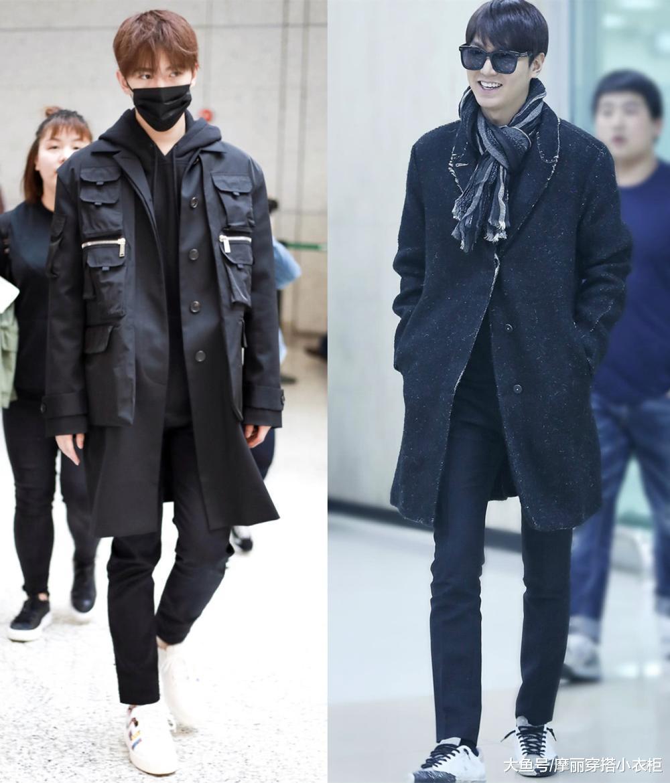 冬季穿衣没气质?黑色大衣搬上身,可酷可美