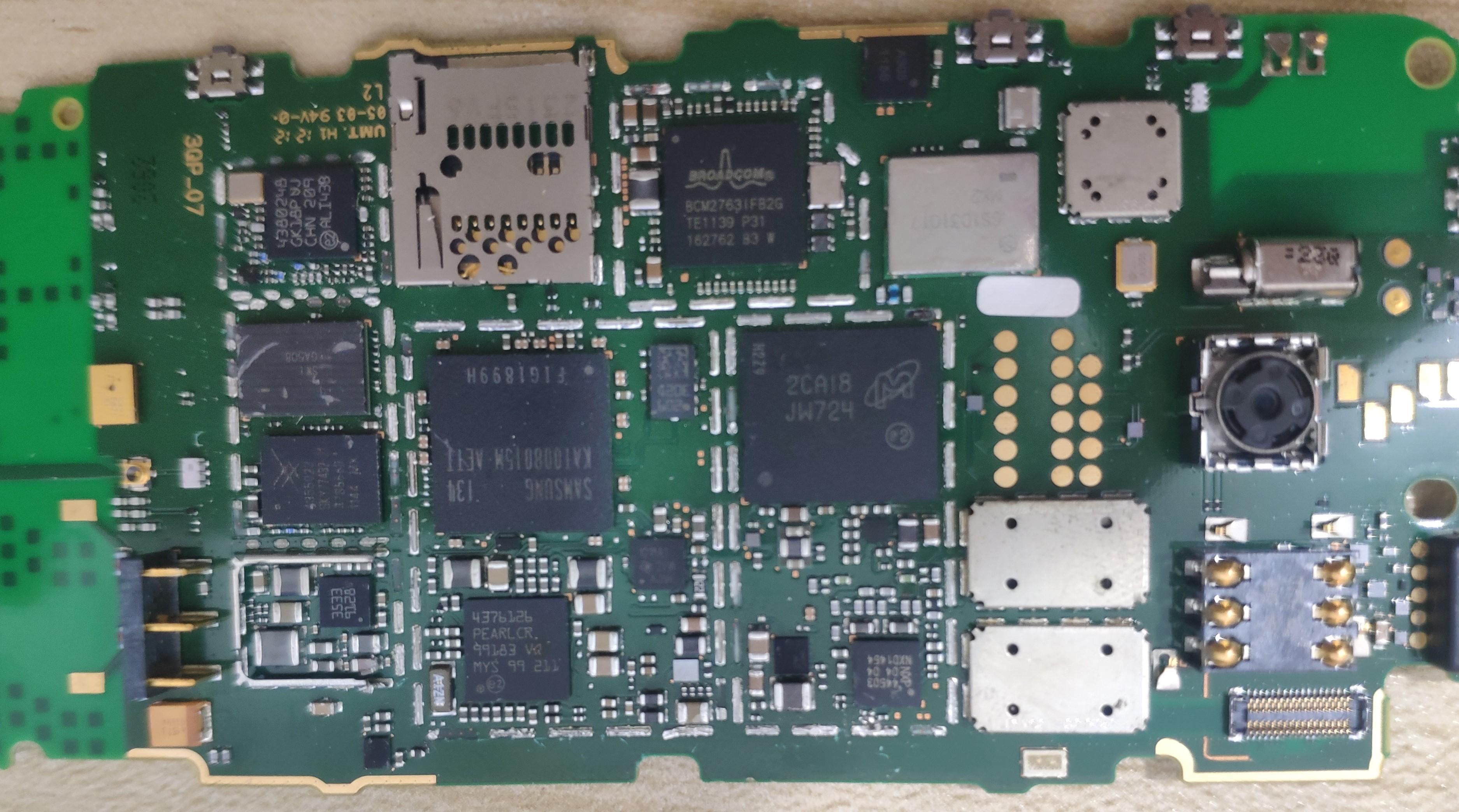 双CPU的诺基亚603拆解与两个CPU的解析