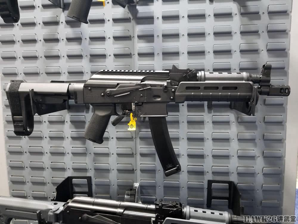 曲击SHOT SHOW:帕梅托州军工场AK-E卡推什僧科夫步枪