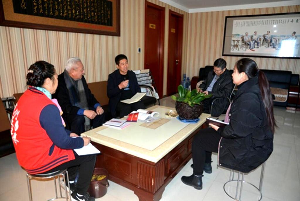 郑州温州商会秘书处召开述职会 明白偏向鼓劲头