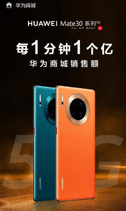 华为Mate30 5G大卖,4G版价格暴跌!网友:后悔买早了!