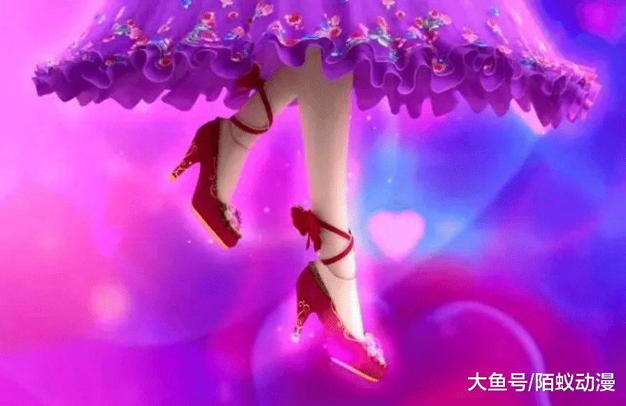 叶罗丽中让人爱不释手的高跟鞋, 王默茉莉和毒夕绯的图片
