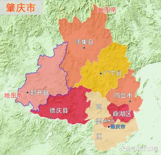 封开江口镇地图