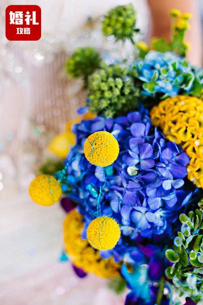 荷兰婚礼时髦圣经钦定的2019脚捧花风行配色,看到间接便能用!