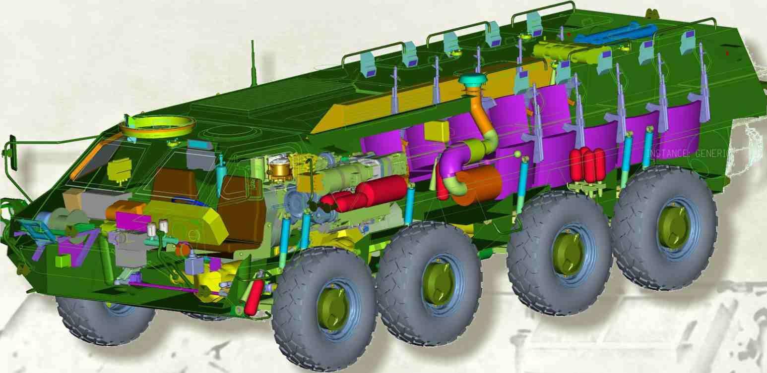 黑克兰完成新型BTR-4步卒战车测试,将多量量设备,用于东部疆场
