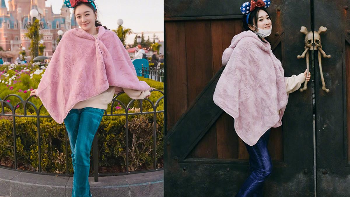 毛绒短外套的花式穿搭,保暖时尚又显瘦,李小冉蔡依林有搭配巧思