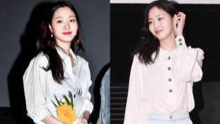 韩国新晋最佳女主高金银,看看她的私服穿搭,尽显邻家女孩气质
