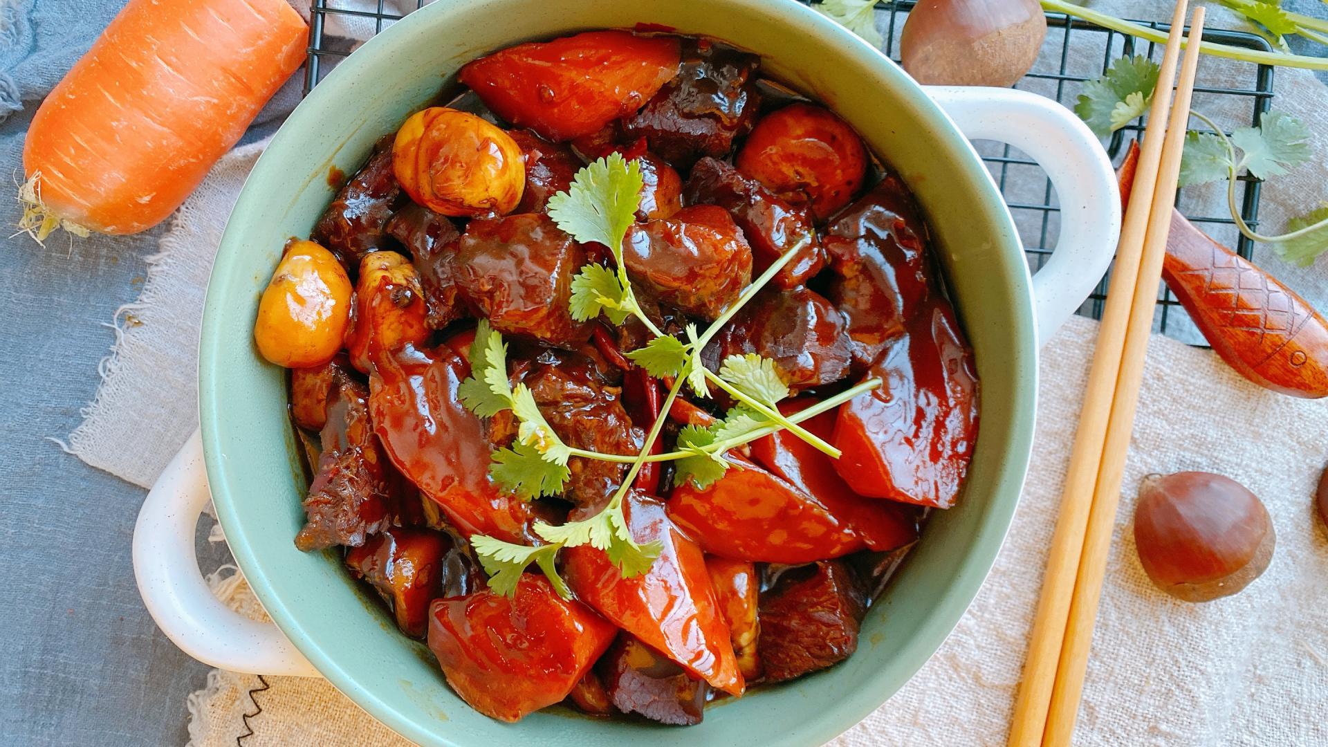年夜饭之红烧牛肉,掌握3个技巧,做好的肉颜色红亮,软糯不塞牙