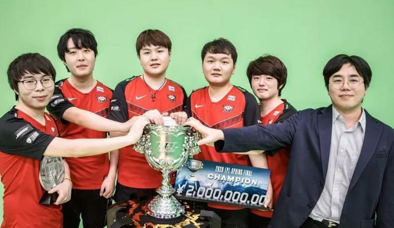 幻想全明星_韩国网友热议JDG击败LGD:除了DWG,没有队伍能跟LPL打一打了