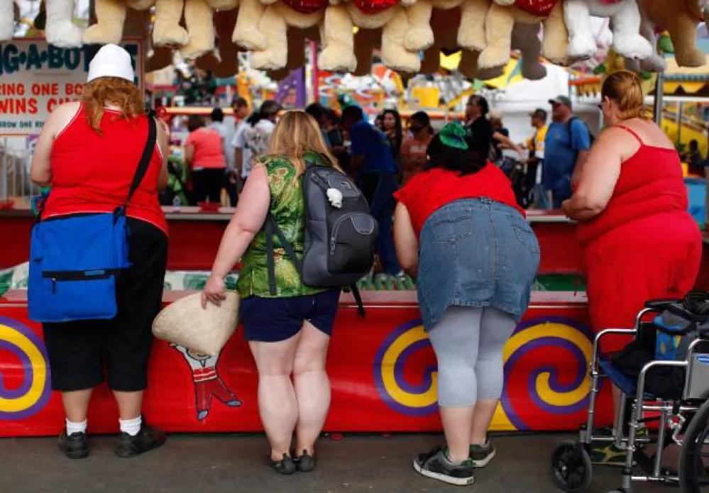 中国胖子在胖成美国胖子之前都死了!
