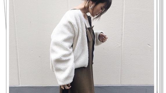 连衣裙+外套的秋季搭配推荐,结合了流行趋势的时尚穿衣技巧