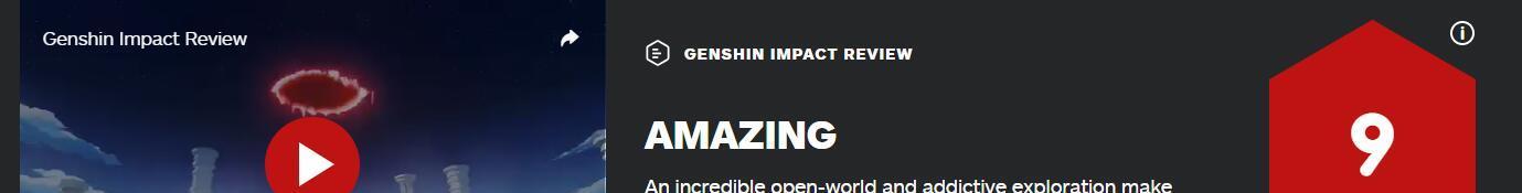天涯明月刀土豆_原神IGN评分高达9分,在评测上玩双重标准的专业媒体还能走多远?