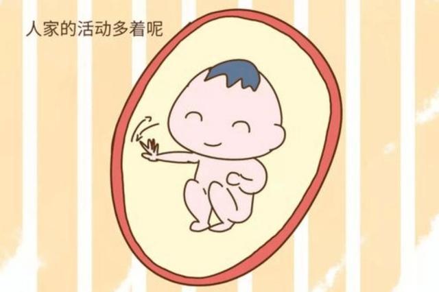 胎儿在这个时间活跃要注意!是他在求救