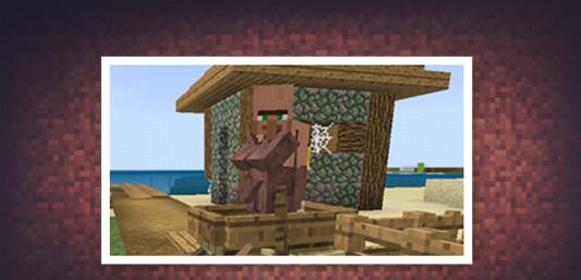 我的世界:绿袍村民实际上一点也不傻?它们的真正身份或是村长! 我的世界 单机资讯  第3张