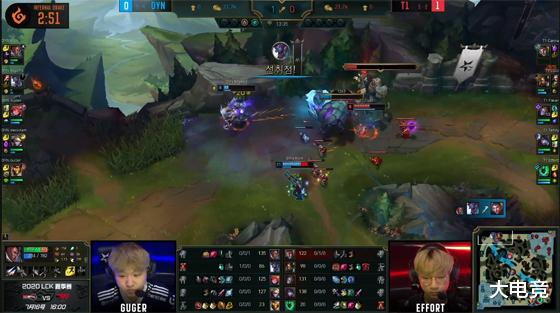 LOL LCK:Teddy厄斐琉斯关键团战被秒杀,DYN让一追二击败T1 狂暴之心 端游热点  第7张