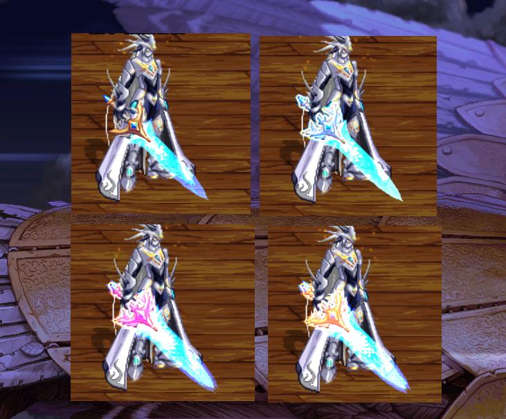 魔兽争霸小说_DNF:鬼剑士100级武器也很帅气!不同强化阶段,幻化外观不一样